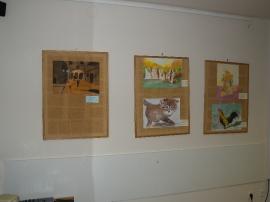 Otvorenje izložbe - crtanje i slikanje
